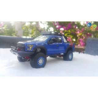Xe Mô Hình Ford F150 Raptor 1:24 Maisto (Xanh)
