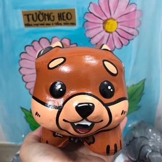 Heo đất handmade – cáo chibi