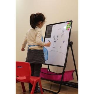 Bảng vẽ 2 mặt cho bé