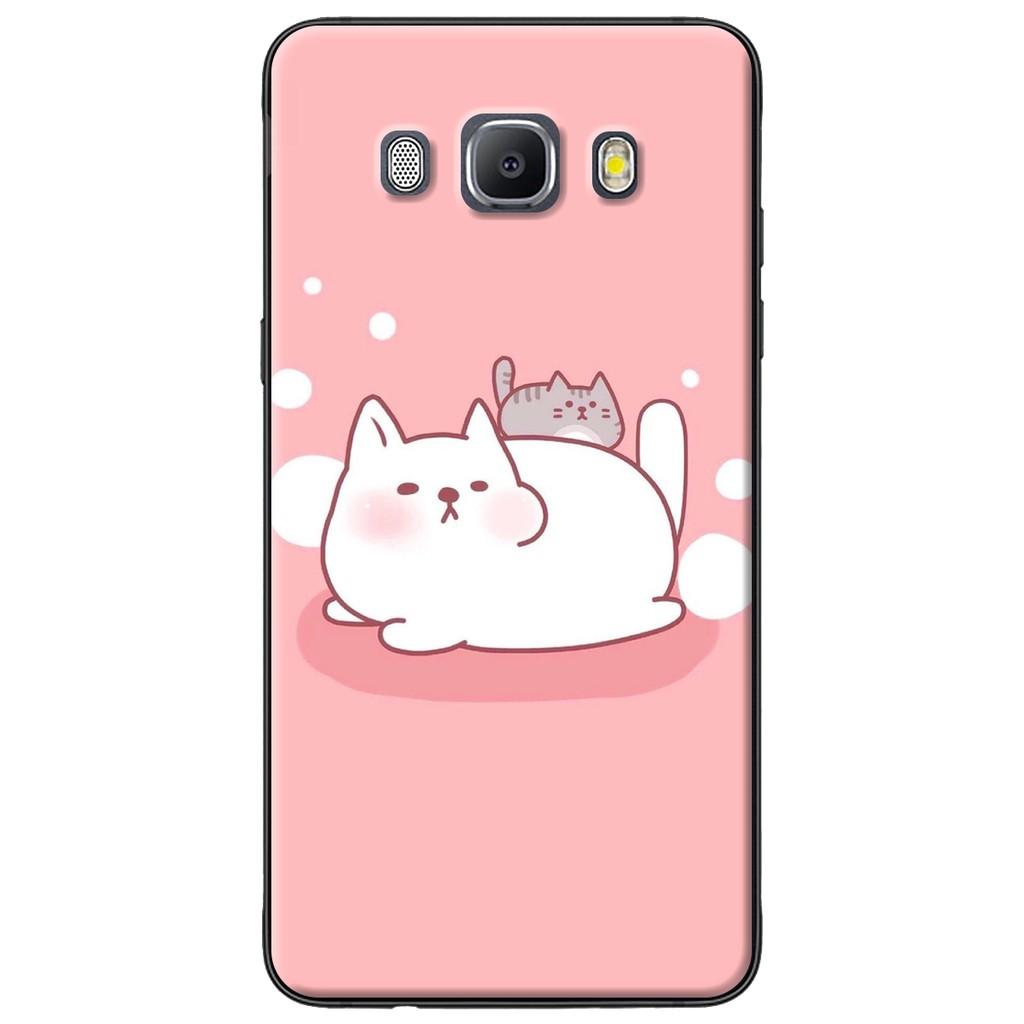 Ốp lưng Samsung J3,J5,J7 (2016), J2 Prime, G530 Mèo mập