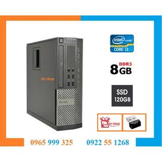 Case máy tính đồng bộ DELL OPTIPLEX 990 790 intel core i3 2100, ram 8gb, ổ cứng ssd 120GB. Hàng Nhập Khẩu.Bảo hành 24T thumbnail