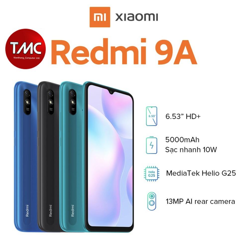 Điện thoại Xiaomi Redmi 9A (2GB/32GB) - Hàng chính