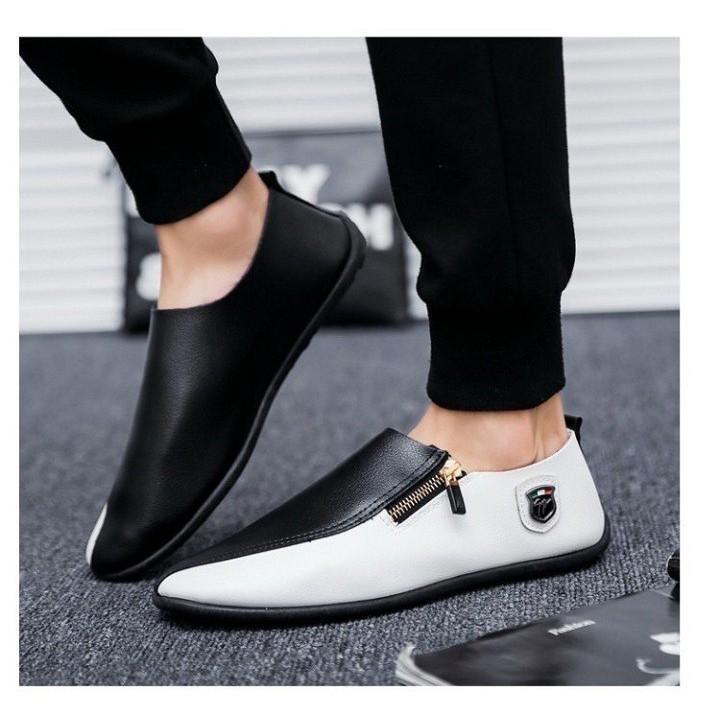 Giày lười da nam, giày lười nam (SP22) chất liệu da mềm mại, giày lười nam đẹp, giày lười nam hàn quốc, giày lười nam