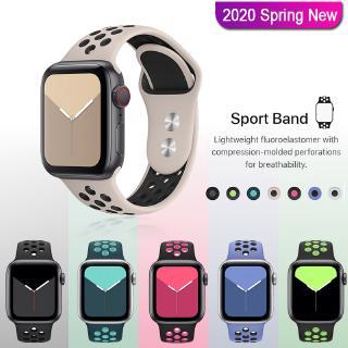 NIKE Dây Đeo Silicon 24 Màu Cho Apple Watch 5 / 4 / 3 / 2 / 1 / 42mm / 38mm