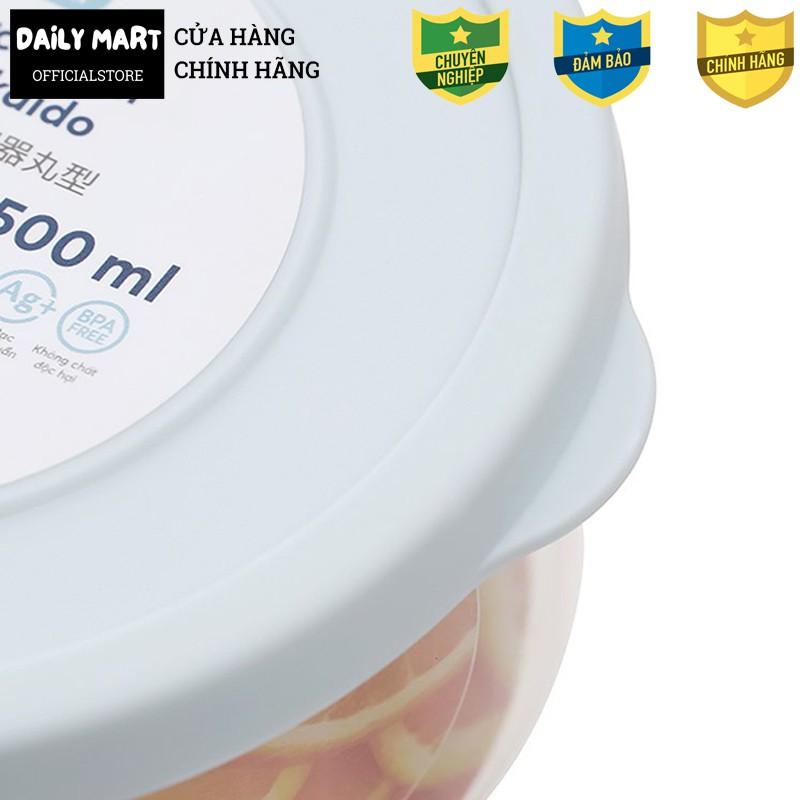 [6 Size] Hộp Đựng Thực Phẩm, Hộp Đựng Thức Ăn Bảo Quản Tủ Lạnh HOKKAIDO Inochi (Dạng Tròn)