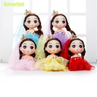 theearlyut 12cm Confused Doll Wedding Dolls Toys Baby Doll Creative Kids toys