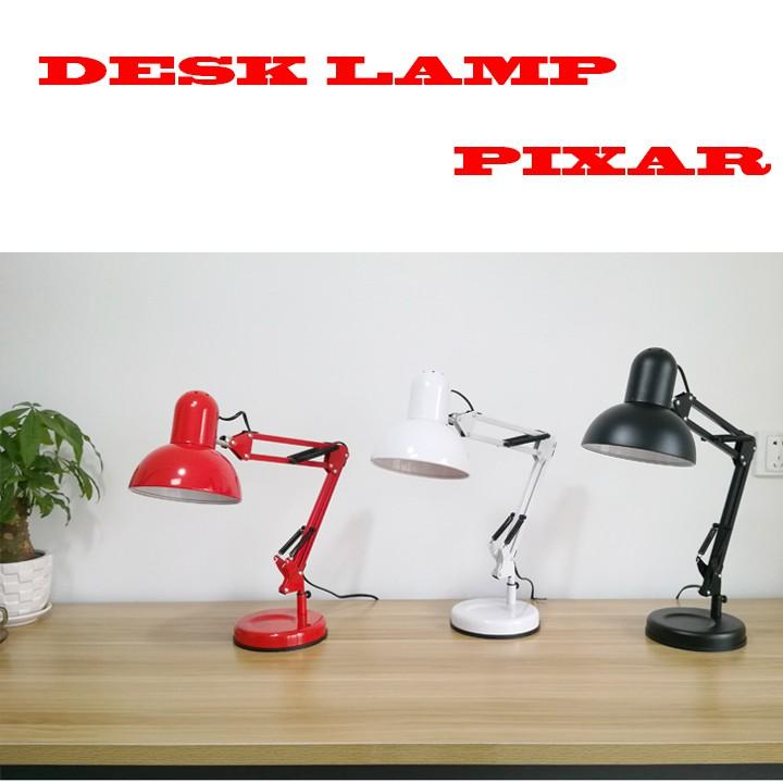 Đèn bàn học DPX01 chóa đèn lớn + kèm Bóng RĐ 40W + Kèm Kẹp bàn đa năng