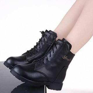 Giày Boot cao cổ cho bé gái phong cách hàn quốc - B010DE
