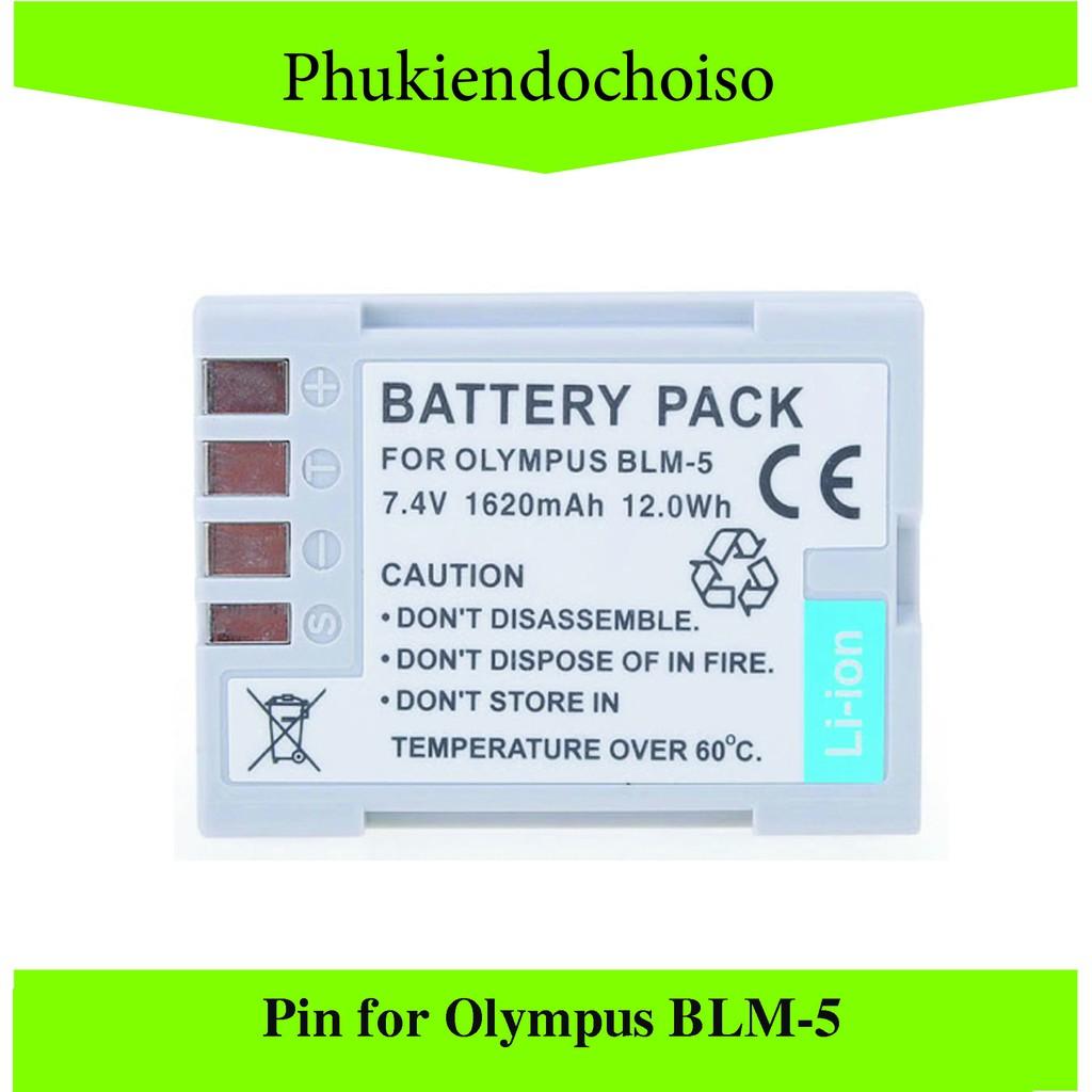 Pin thay thế pin máy ảnh for Olympus BLM-5