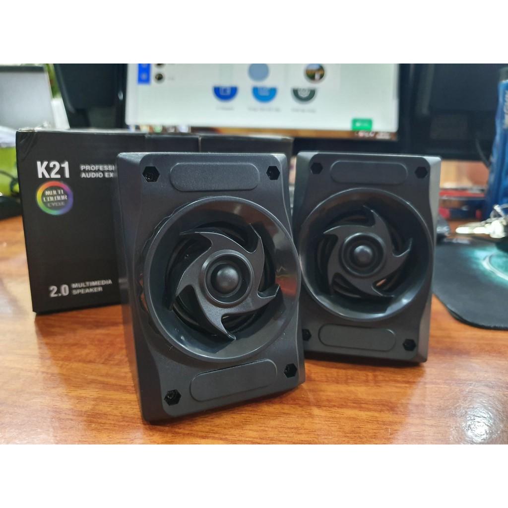 Loa vi tính 2.0 Multimedia Speaker K21 - Hàng Chính Hãng