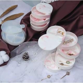 Combo 3 khay làm Khay đựng trang sức nhiều tầng sáng tạo