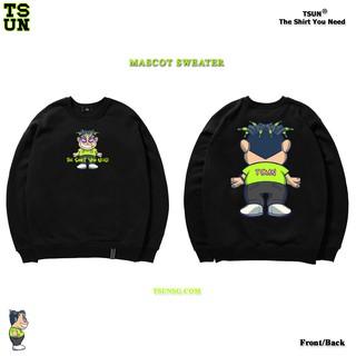 Áo Sweater TSUN Mascot - Black - Unisex thumbnail