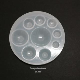 Khuôn silicon nửa cầu (nguyên liệu resin)