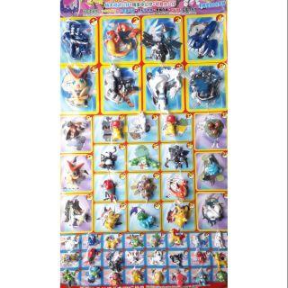 Sét 50 mô hình PokemonPk hàng chất lượng cao có 3 size