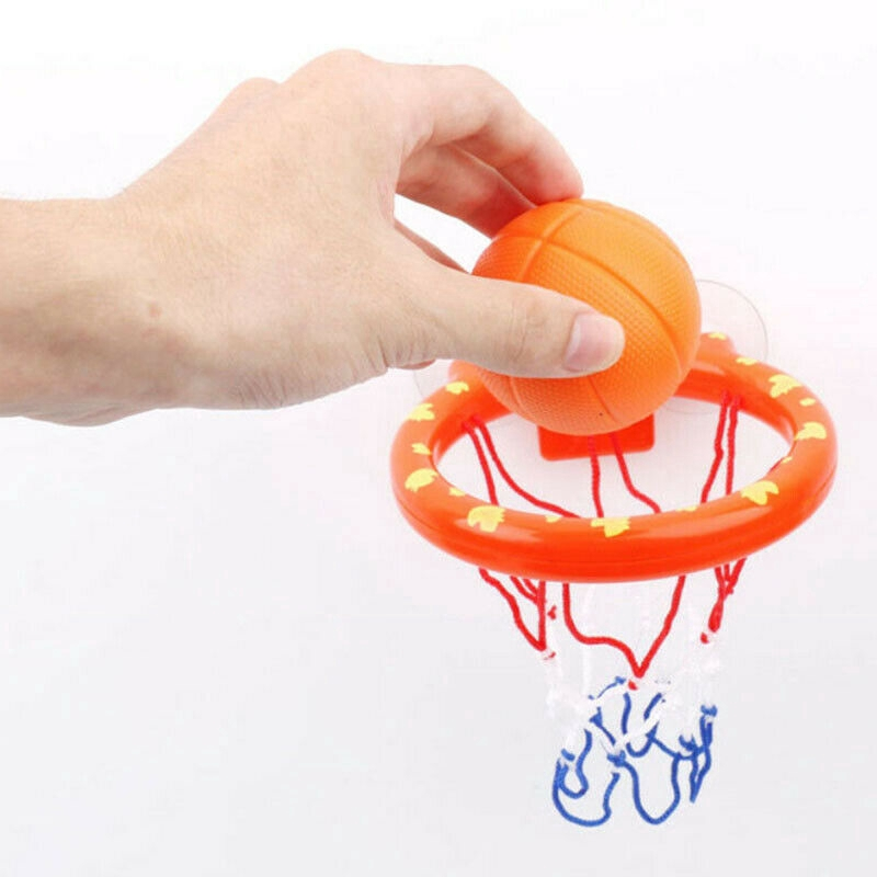 Baby Kids Bath Toy Basketball Hoop & Ball Bathtub Water Play Set Children Gift