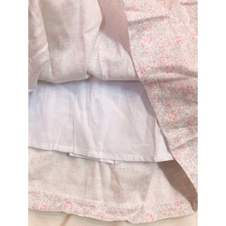 Đầm Smock xuất Âu hoa hồng nhí màu Vintage bé gái size 12m- 10 tuổi