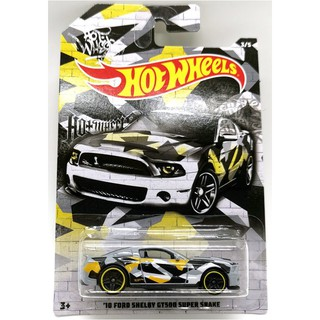 Xe mô hình Hot Wheels '10 Ford Shelby GT500 Super Snake GJV55