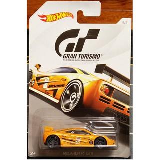Xe mô hình Hot Wheels Gran Turismo McLaren F1 GTR FKF34