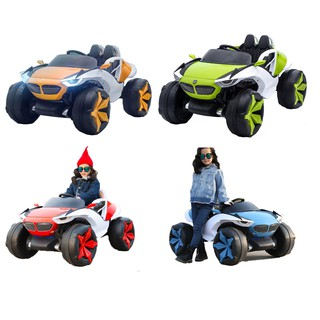Ô tô xe điện đồ chơi mẫu địa hình 2 ghế 4 động cơ 12V/7AH cho bé vận động vui chơi ngoài trời KIDVIET-PRO XJL-688
