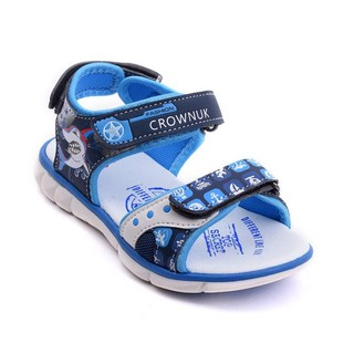 [Mã KIDMALL15 hoàn 15% xu đơn 150K] Xăng đan bé trai Crown UK Space Sandal CRUK525 bền đẹp cho trẻ từ 4 - 10 tuổi