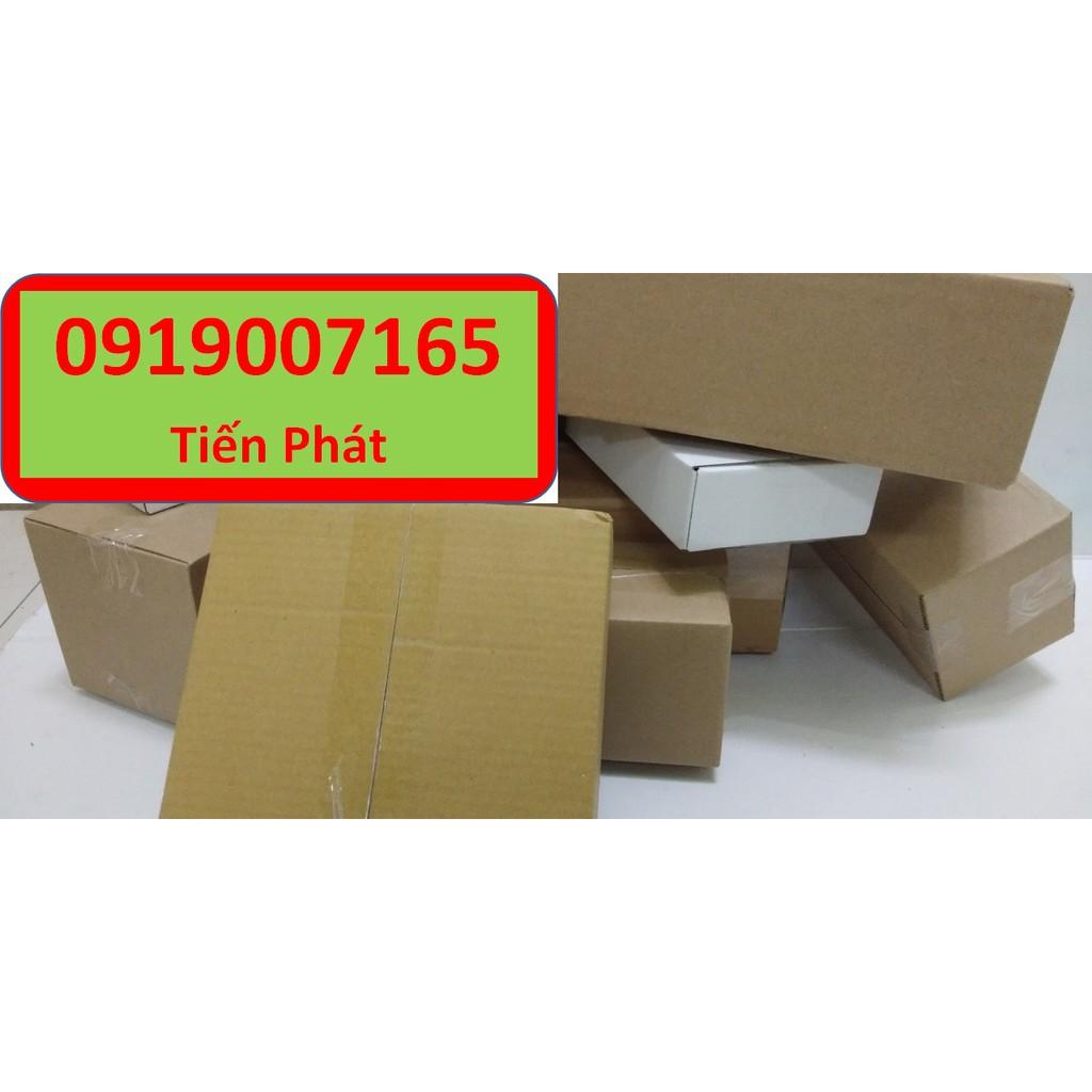 Hộp giấy carton GIÁ RẺ 7x7x15, số lượng 100 hộp