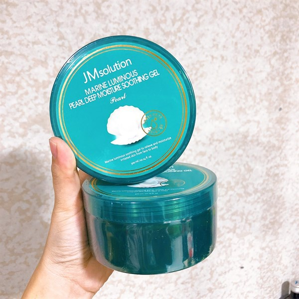 Gel Dưỡng Ẩm JM Solution Marine Luminous Pearl Deep Moisture Soothing Gel  300ml   Shopee Việt Nam