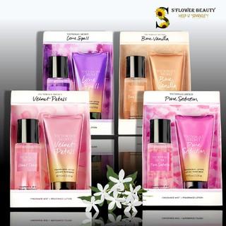 VS - Mini Gift Set Bộ Quà Tặng Mini Xịt Thơm và Sữa Dưỡng Thể Victoria s Secret Mini Body Mist and Lotion thumbnail