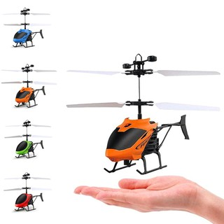 D715 Mini Helicopter Induction Aircraft Remote Control RC Drone with Flash Light