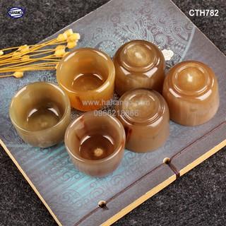 Chén sừng dùng để uống Rượu - thanh lọc giải độc và nhiệt [CTH782] HA thumbnail