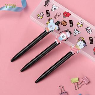 0.5mm Signature Press Style Bangtan Boys Plastic Writing Tool BTS Ballpoint Pen
