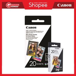 Giấy in ảnh Canon Zink Zero dành cho máy in Canon (20 tấm) - Chính Hãng Canon ZP-2030 và PV123 thumbnail