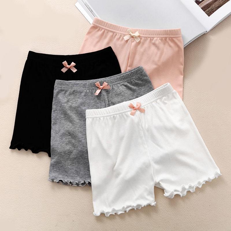 quần váy có gắn nơ dùng cho bé gái