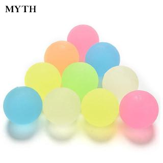 Ball Solid Bounce For Kids Ball Toy Bouncing Rubber 10Pcs/Set Durable
