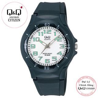 Đồng hồ nam thể thao Q&Q Citizen VP58J001Y kim dạ quang dây nhựa thương hiệu Nhật Bản