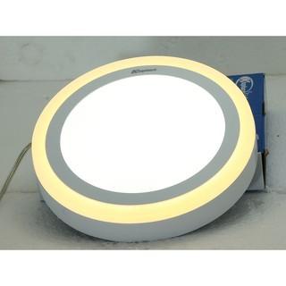 ĐÈN GẮN TRẦN -ỐP TRẦN NỔI phi 140-190-240 x38mm ĐÈN LED KHAPHACO