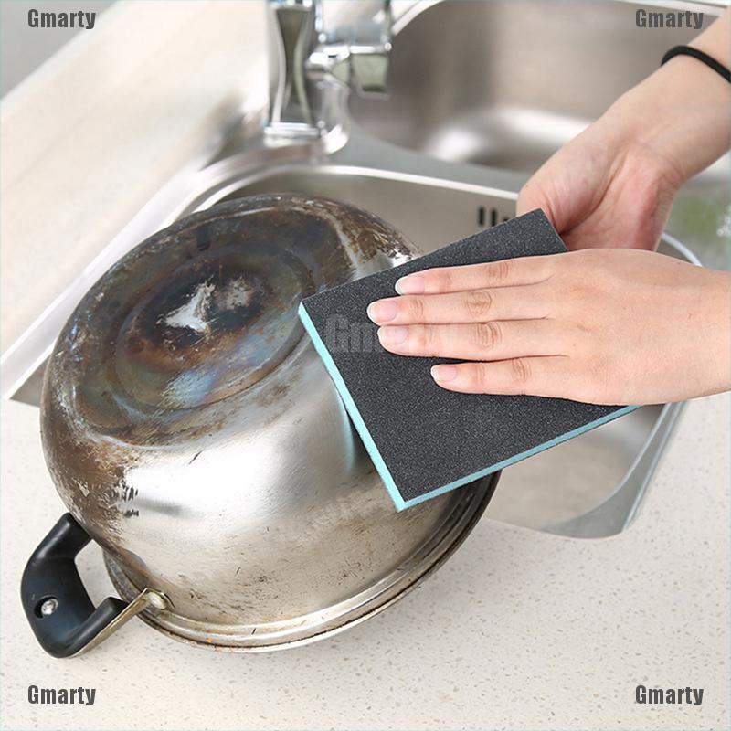 Gmarty Nanometer Diamond Sand Magic Sponge Descaling Kitchen Home Cleaning Brush