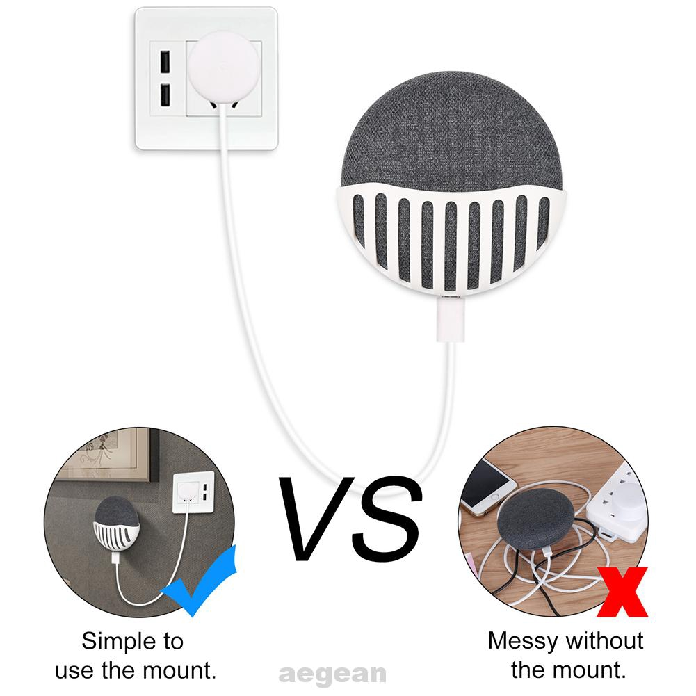 Stand Bedroom Compact Easy Install Grip Kitchen Plastic Wall Mount Phone Accessories For Google Home Mini