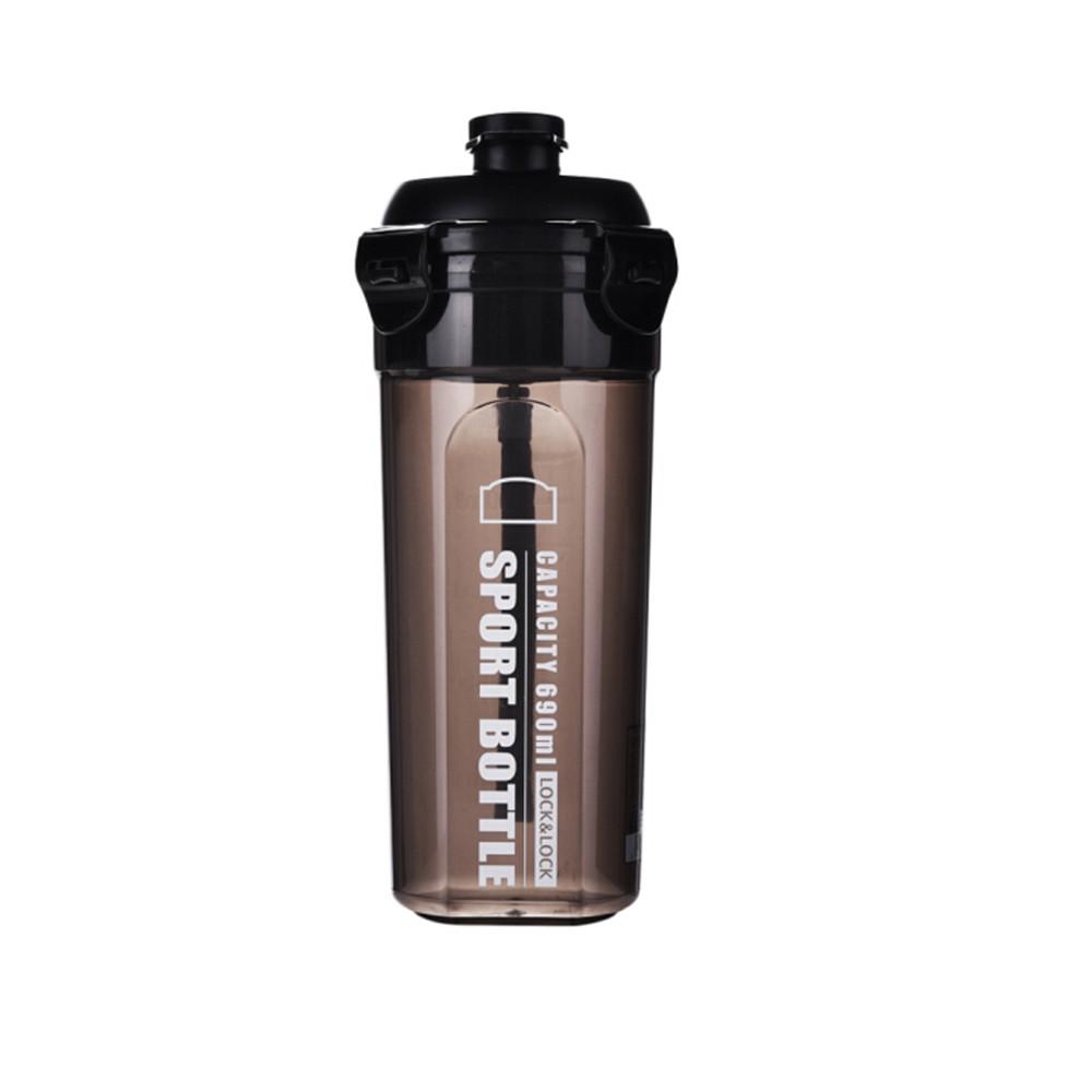 Bình nhựa đựng nước Sport Lock & Lock, 690ML - Màu Đen HPL934MBK