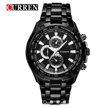 Đồng hồ nam Curren màu đen cực nổi bật