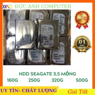Ổ cứng HDD Seagate 80GB/ 160GB/ 250GB/ 320GB/ 500GB (Hàng Tháo Máy Bộ- mới trên 90%) - Bảo hành 12 tháng 1 đổi 1