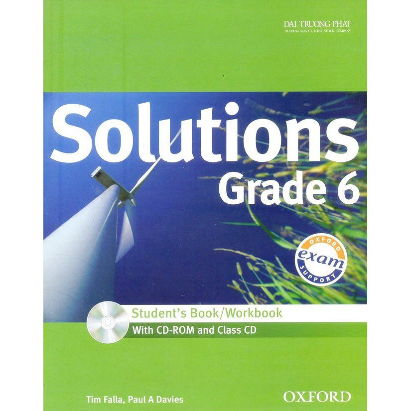 Solutions Grade 6 - Student