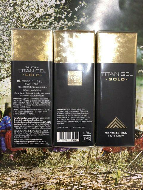 Gel -nga-titan hàng xách tay chuẩn nội địa