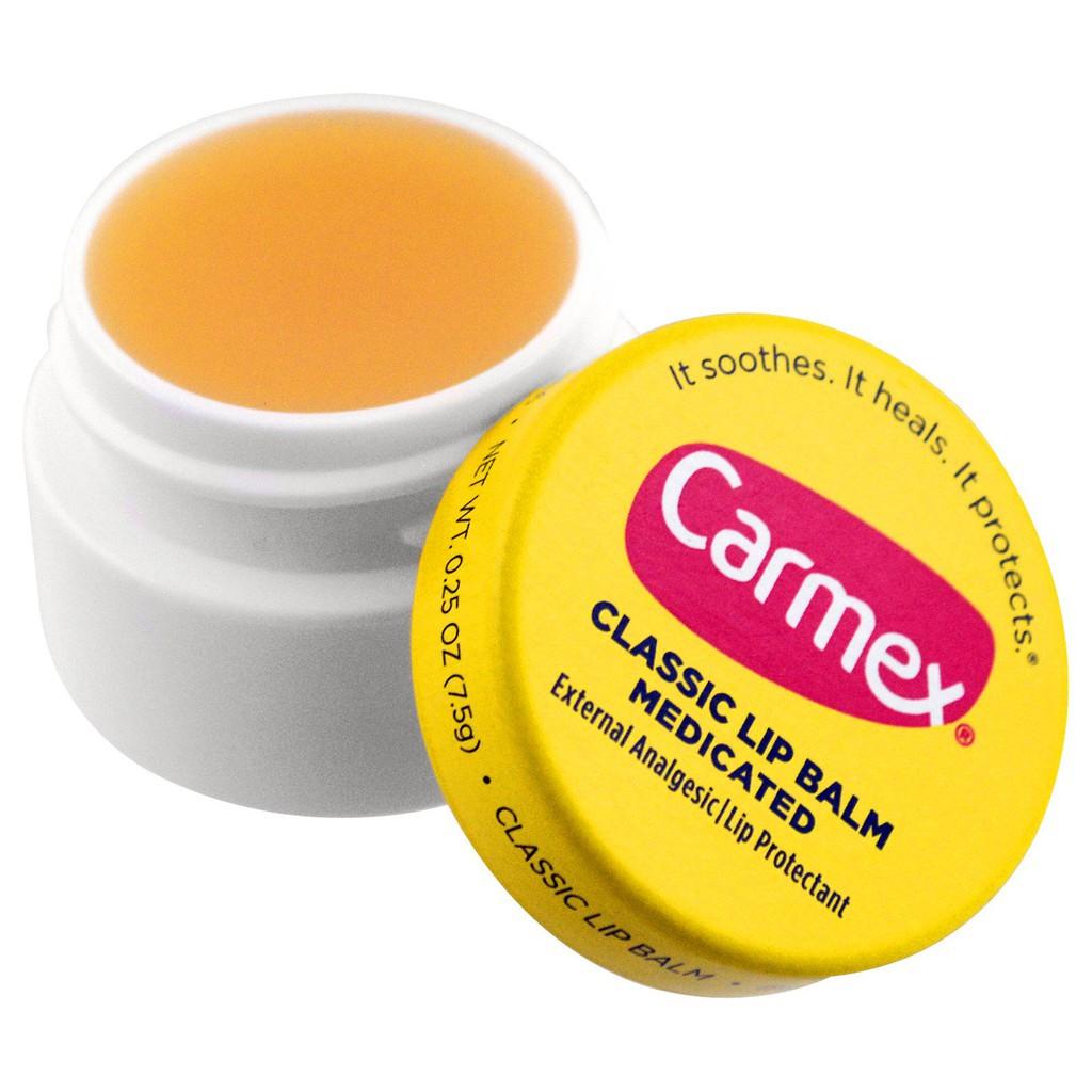 Dưỡng môi Carmex Classic lip balm medicated