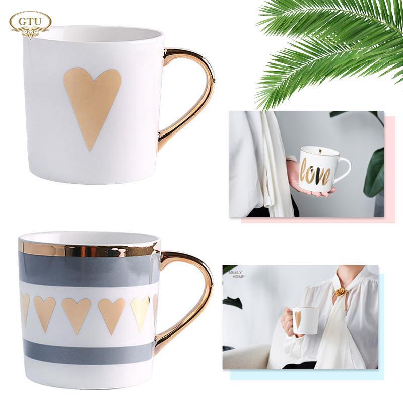 Ly uống cà phê thiết kế châu Âu sáng tạo