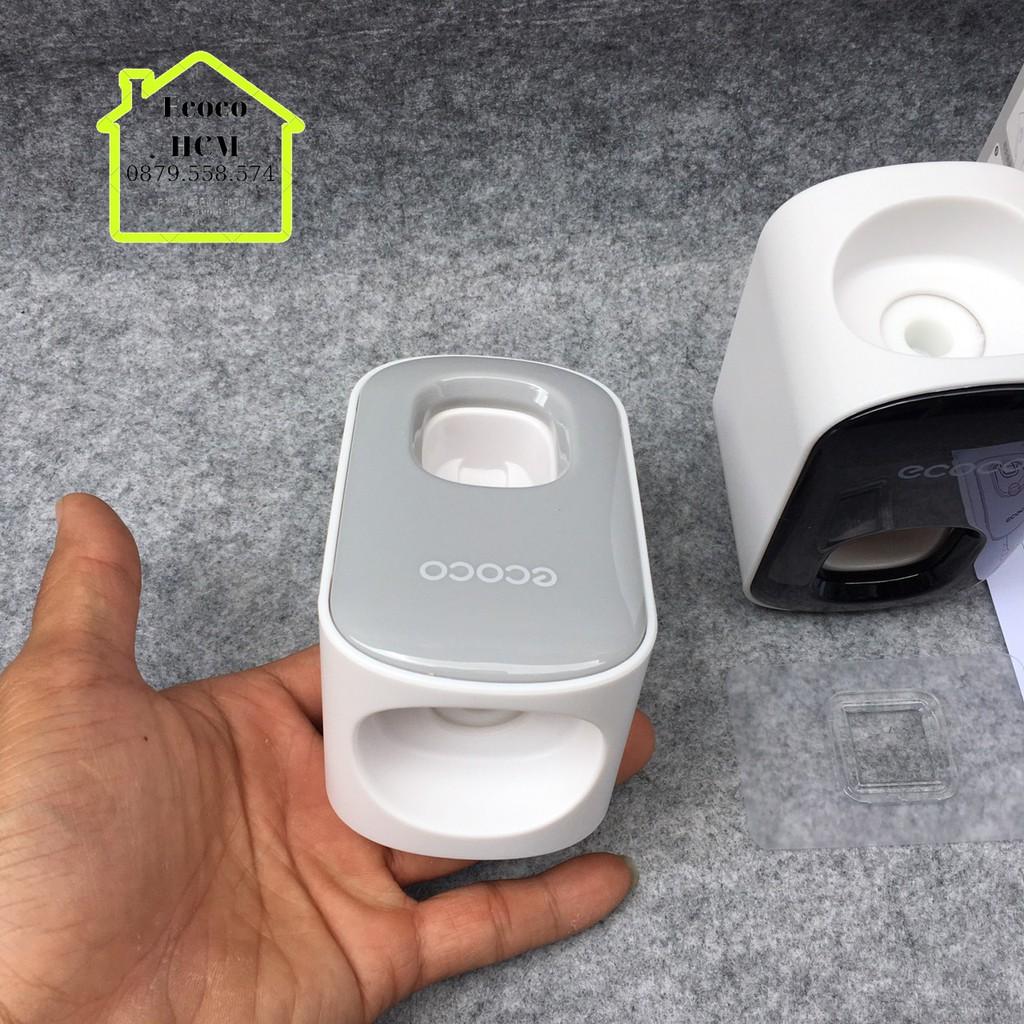 Nhả kem Ecoco đơn mini mẫu mới,Kệ lấy kem đánh răng đựng bàn chải đánh răng đơn ECOCO sang trọng cao cấp