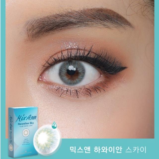 Lens mắt nội địa Hàn Mix Ann Hawaiin Sky