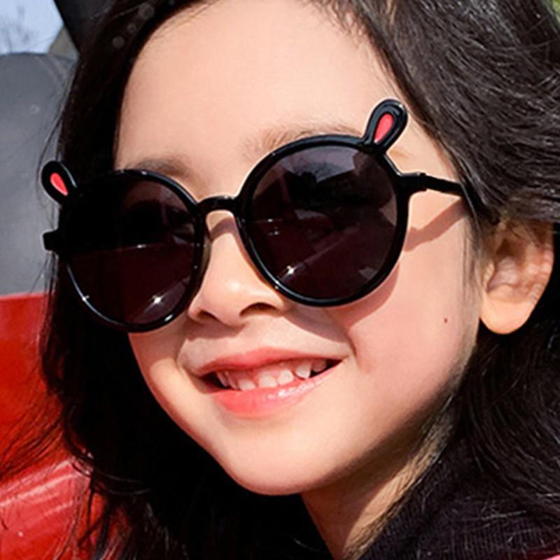 Kính cho bé FUHA, kính tai thỏ thời trang nhiều màu dành cho bé gái