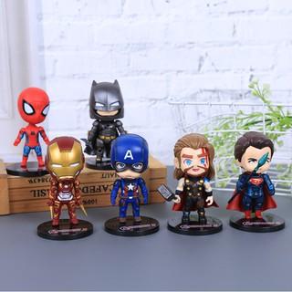 Mô Hình Nhân Vật Siêu Anh Hùng Marvel Avengers