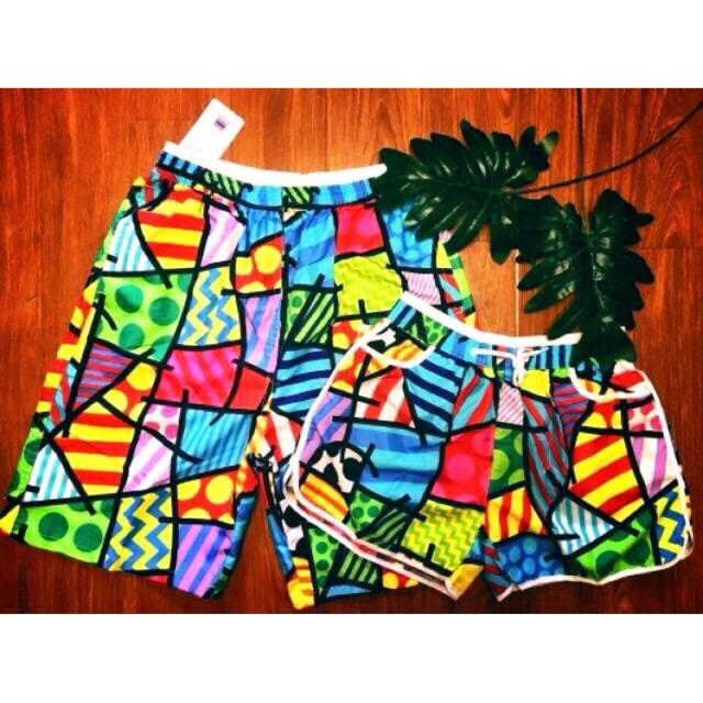 Xả quần đôi đi biển 🐳🐬🌊💦