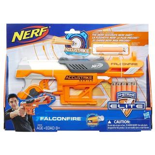Đồ chơi Nerf N-Strike Elite AccuStrike Series FalconFire cò cam phiên bản US hộp mới tặng thêm 10 viên xốp